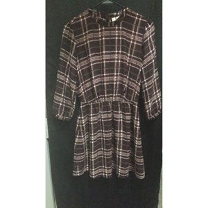Forever 21 | Purple Patterned Dress | Sz. Small